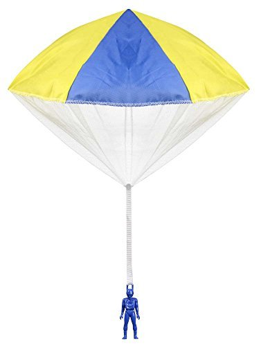 Aeromax Original Tangle Free Toy Parachute has no strings to tangle and requires no batteries. Simply toss it high and watch it fly! by (Tangle Free Toy Parachute)