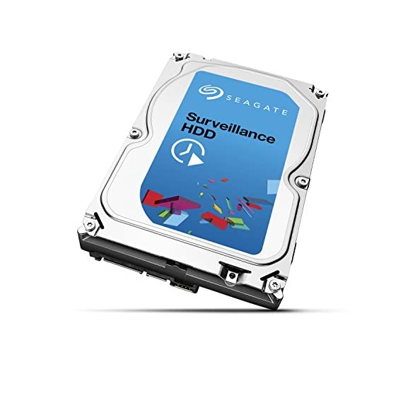 Seagate Surveillance HDD 1TB ST1000VX0001 6-Gb/s Internal Hard Drive 2 Ideal for surveillance DVRs and NVRs Capacities up to 8TB support systems with 8+ drives and 64 cameras per drive Precision-tuned for high write surveillance workloads