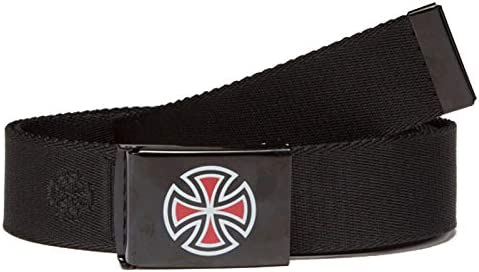 BAR/CROSS WEB BELT (BLACK)