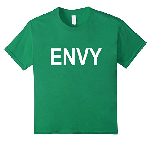 Best Sorority Girl Halloween Costumes (Kids Green with Envy Couples Halloween Costume T-Shirt 4 Kelly Green)