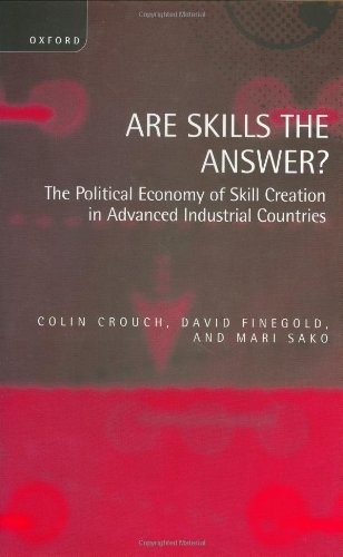 Download Are Skills the Answer?: The Political Economy of Skill Creation in Advanced Industrial Countries Pdf