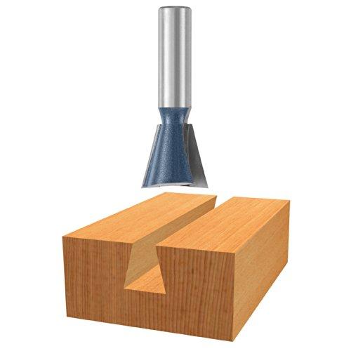 Carbide Dovetail Bit Tipped (Bosch 84710M 14 degree x 3/4 In. Carbide Tipped Dovetail Bit)