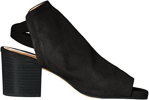 Dress Hudson Suede H Black Women's Sandal Haiti by W6WpHPqF