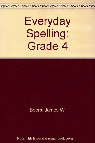 Everyday Spelling: Grade 4