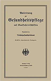 Book Anleitung Zur Gesundheitspflege Auf Kauffahrteischiffen