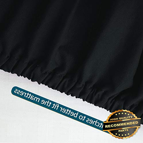- Ellyly Premium New Fitted Sheet 15 Deep Pocket Washed Cotton Ultra Comfortable Luxury Soft | Style CMFTR-120218402 | Full(74034