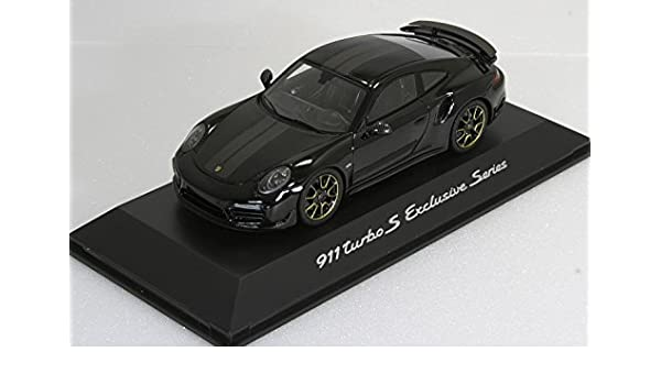 Porsche 911 Turbo S Exclusive Series 1:43, schwarz - WAP0209050J: Amazon.es: Coche y moto