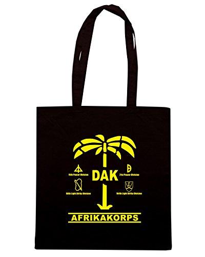 T-Shirtshock - Bolsa de playa de Algodón  Mujer negro negro Talla única