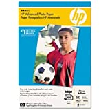 Hp - Advanced Photo Paper 56 Lbs. Glossy 4 X 6 100 Sheets/Pack Product Category: Paper & Printable Media/Printer Paper