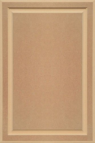 Unfinished MDF Cabinet Door, Square with Raised Panel by Kendor, 36H x (Unfinished Wide Cabinet)