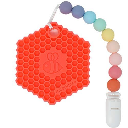 Meerkatto Honeycomb Teether (Pink)