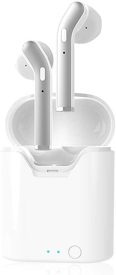 TWS Verdaderos Auriculares inalámbricos Bluetooth con micrófono inalámbrico Auriculares Invisible Touch Control,No Importa el Final (Color : Blanco): Amazon.es: Hogar