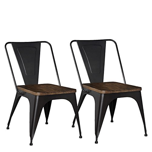 Standard Furniture Nelson 2-Pack Metal Chair, - Chair Bay Dining Standard