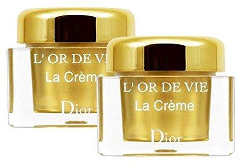 Dior L'or de Vie La Creme 5ml Travel Size (5ml x 2 bottles)