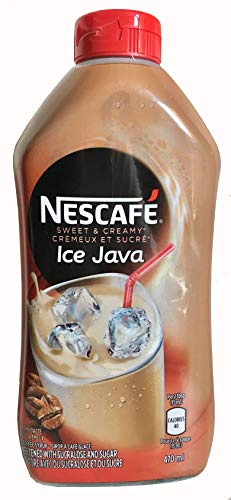 Nescafe Ice Java Coffee Syrup 470ml - Imported from Canada (Pack of 4)
