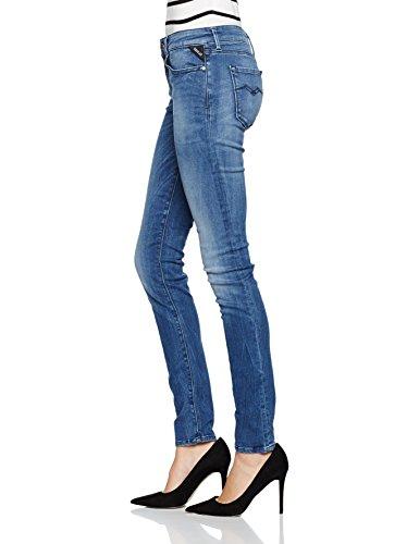 Blu Replay Luz 10 Jeans Donna blue Denim rUtWUqw4