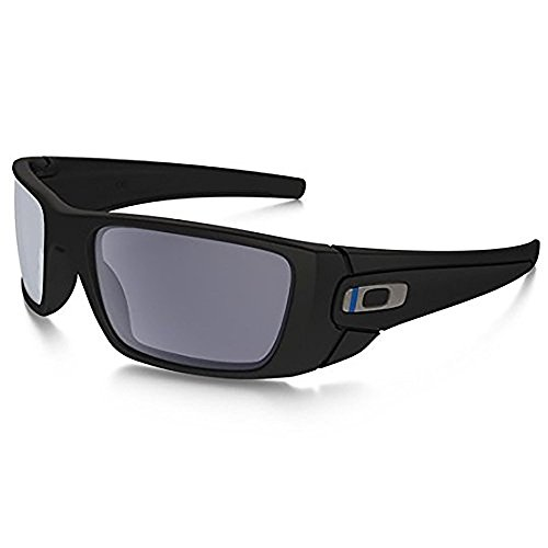 Oakley SI Fuel Cell Thin Blue Line, Blk Frame/Grey - For Women Sunglasses Whose