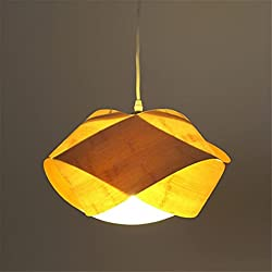 LUCKY CLOVER-A Southeast Asian Style Chandeliers Pendant Lamp Ceiling Light Ceiling Lamp Hallway Aisle Porch Bedroom Balcony Kitchen Dining Hall Dia 33H 16Cm,Single