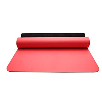 Yoga Mat-5mm Caucho Natural Profesional Hombres y Mujeres ...