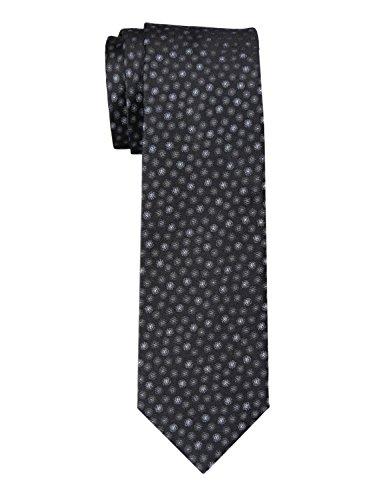 Yves Saint Laurent Spots Classic Silk Tie Black and Grey Size - Yves Laurent Clothes Saint