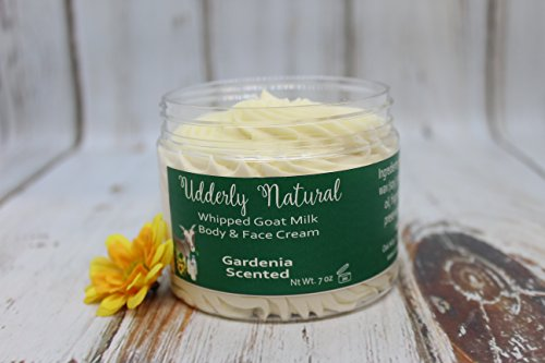 Whipped Goat Milk Body and Face Cream-Floral (Moisturizing Peony Moisturizer)