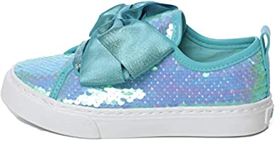 Jojo Siwa Girl's Low Top Reversible Sequin Sneakers (Little Girl/Big Girl)