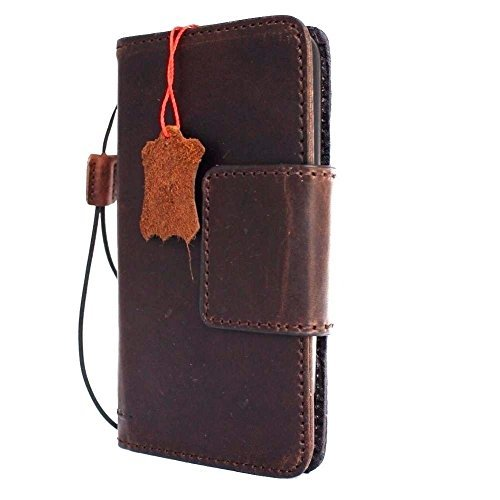 Genuine real Leather Case for Lg G5 Book wallet magnet cl...