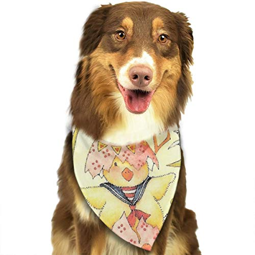 FRTSFLEE Dog Bandana Easter Mary Engelbreit. Scarves Accessories Decoration for Pet Cats and -