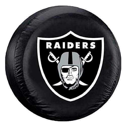 Fremont Die NFL Oakland Raiders Tire Cover, Large Size (30-32
