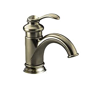 Yannlii Brushed Nickel Waterfall Bathroom Sink Faucet Satin Nickel Vessel Faucet