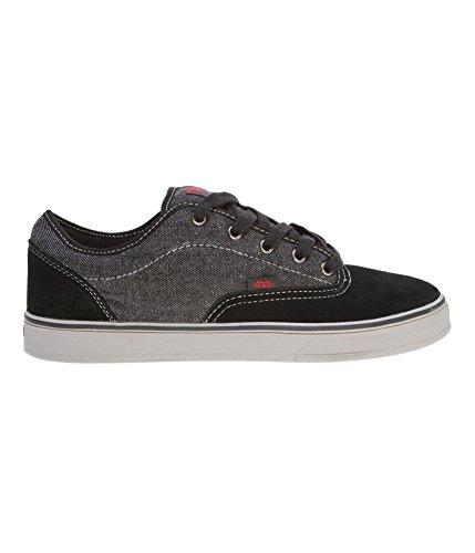 Vans Mens Av Era 1.5 Canvas Skateboarding Shoes Washed Canvas Black Charcoal (Av Vans Era)