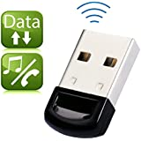 Avantree Bluetooth 4.0 USB Dongle Adapter for PC with Windows 10, 8, 7, XP, Vista | PLUG & PLAY or IVT Driver | Support BT Headphones, Speakers, Mouse, etc