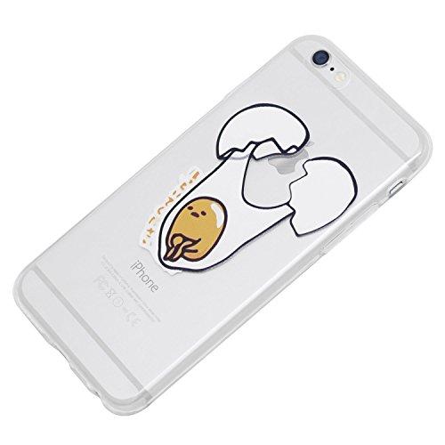 """iProtect Housse de protection Soft Case en silicone - housse de gel Lazy Egg balançoire - Apple iPhone 6 (4,7"""")"""