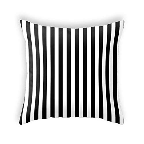 Halloween pillow. Black and white stripes pillow White Stripes cushion White striped pillow striped cushion halloween throw monochrome decor