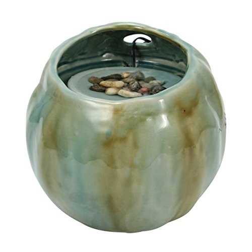 - Foreside Home & Garden Foreside Blue Desktop Fountain