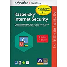 Kaspersky Internet Security 2018 3-User 18 Months