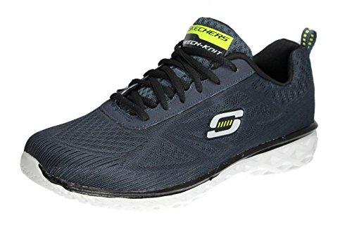 Athletic Training Men's Sport Sneaker Memory Switch Synergy Foam Dark Skechers Navy Power gB606R
