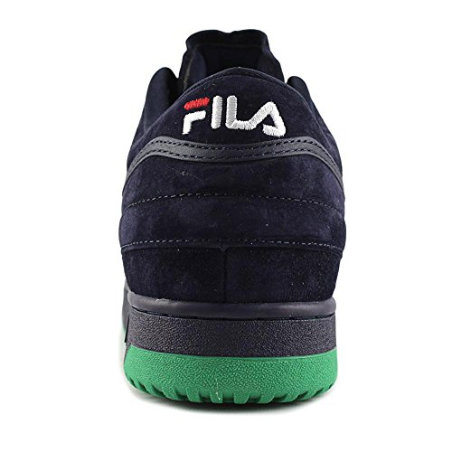 1 Navy up T Sneakers Lace Fila Fila Bean Mid White Jelly Suede Men's Leather ZgEHCqx6