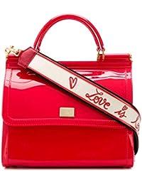 Women's BB6235AU6988L270 Red Pvc Handbag