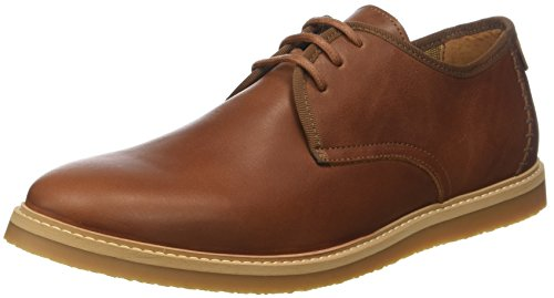 Schmoove Fly Etna, Scarpe Stringate Derby Uomo Marrone (Cognac Co)
