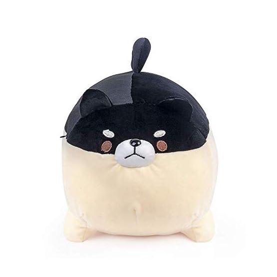 Shiba Inu Plush | Black Dog Plush Pillow | By Auspicious Beginnings 3