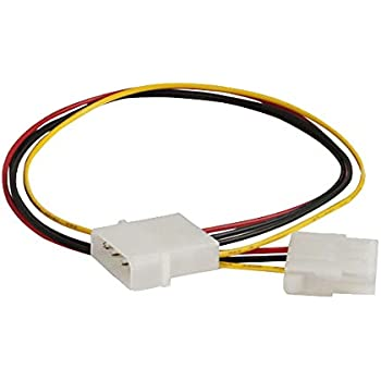C2G/Cables to Go 27397 Internal Power Extension Cable for 5-1/4 Inch Connector (14 Inch)