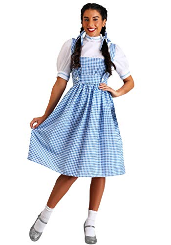 Dorothy Long Dress Costume Medium Blue -