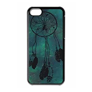 Generic Cell Phone Case For Iphone 5c case Colorful Cloud Dream Catcher Design Mobile Phone Cases Hard Back cover Protective shell