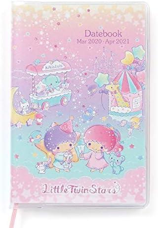 Little Twin Stars pocket date book 2019