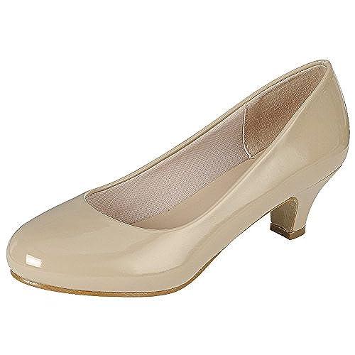 b554bef3fb7 80%OFF Cambridge Select Women s Classic Dress Formal Round Toe Low Mid Heel  Pump