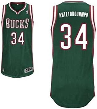 adidas Camiseta Baloncesto NBA Replica m92024 Milwaukee Bucks 34 Antetokounmpo: Amazon.es: Deportes y aire libre