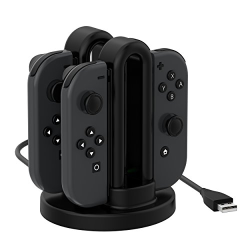 Switch Joy-Con Charger, Fitian Charging Dock Cable Charge Stand Station for Switch Joy-Con by Fitian