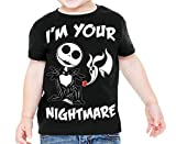 Disney Nightmare Before Christmas I'm Your Nightmare Toddler T-Shirt, Black, 2T