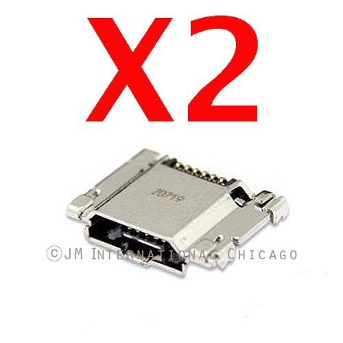 ePartSolution-Samsung Galaxy S3 i9300 i535 i747 L710 R530 T999 Charging Port Dock Connector Micro USB Dock Port Replacement Part USA Seller